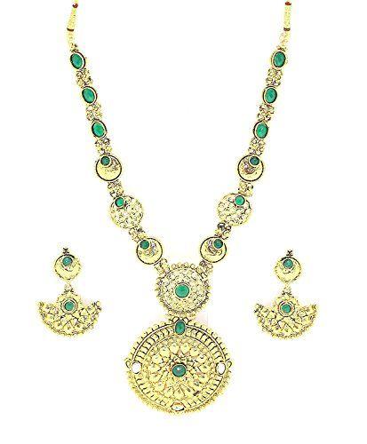 VVS Jewellers Green Stone Indian Bollywood Style Gold Pla... https://www.amazon.com/dp/B072M9GMQM/ref=cm_sw_r_pi_dp_x_4jZvzbFDFX6AV