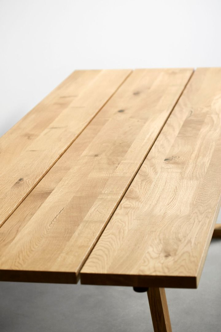 1000 Ideas About Plank Table On Pinterest Top