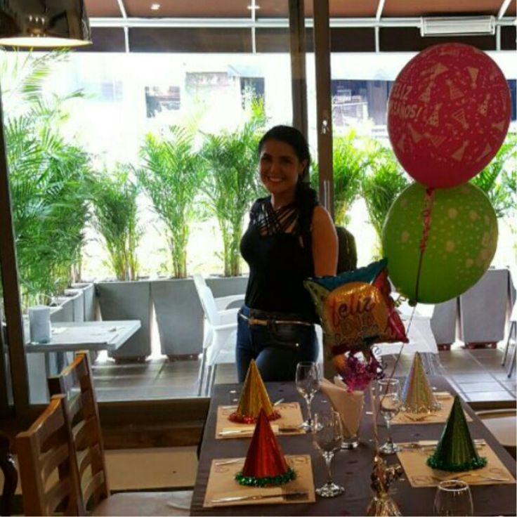 Almuerzo de cumpleaños ! :)