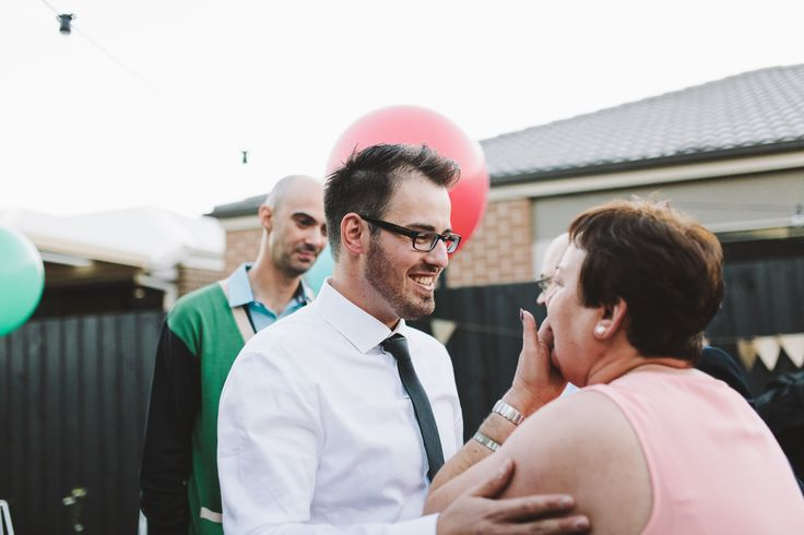 That moment when the groom tells his mother that this isn't the engagement party, it's the wedding <3