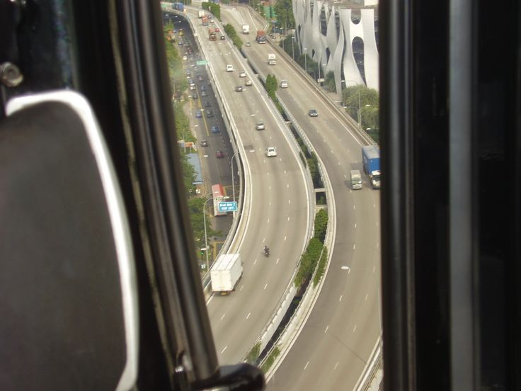 Over view from Cable Car- SIngapore