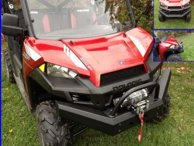 Ranger XP900 Front Brush Guards with Winch Mount                            Fits: 2013 Ranger XP900 (not RZR XP900)