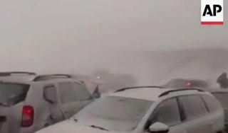 Αuto  Planet Stars: Βουλγαρία-Ρουμανία: Χάος έχουν προκαλέσει οι χιονο...