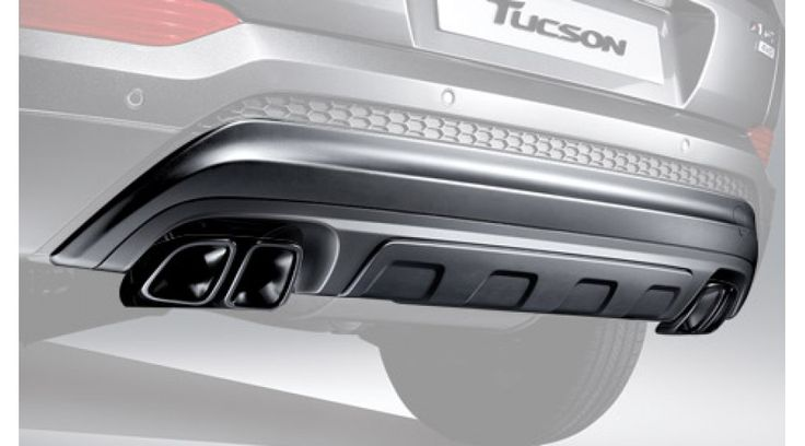 TUIX DUAL MUFFLERS PACKAGE FOR HYUNDAI ALL-NEW TUCSON – 2015-17 MNR