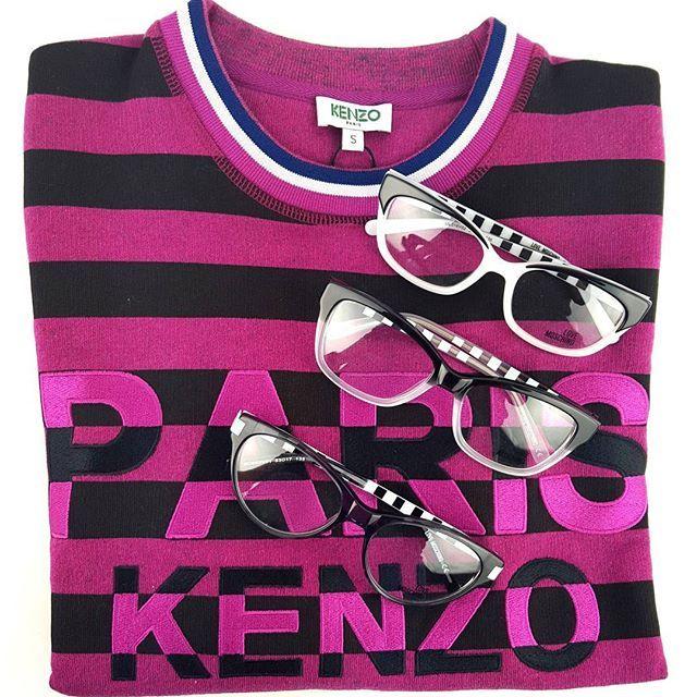 MOSCHINO okulary x KENZO