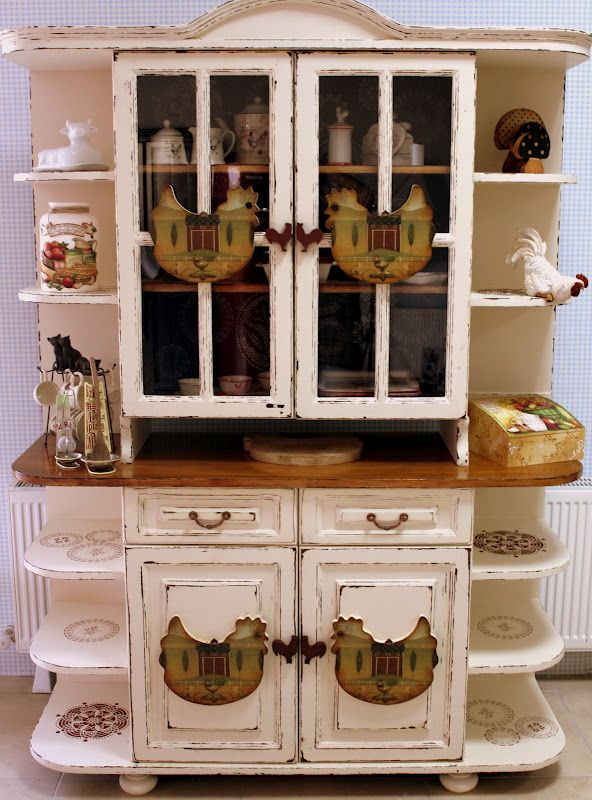 I would have a cute kitchen peice like this, minus a thousand hens lol
