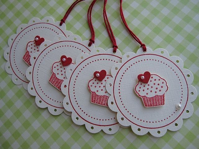 Sweet Cupcake Tags by vsroses.com, via Flickr