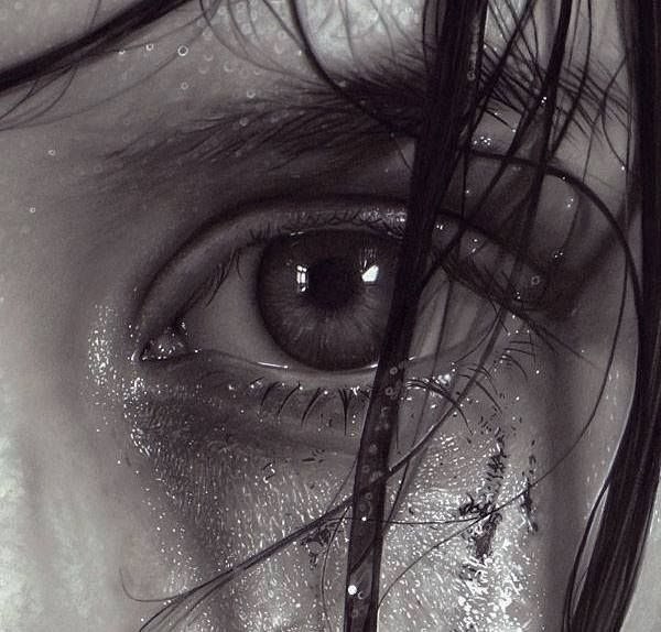 Mind Blowing Hyperrealism Portraits Drawings by Dirk Dzimirsky