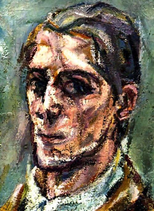 Oskar Kokoschka - self portrait