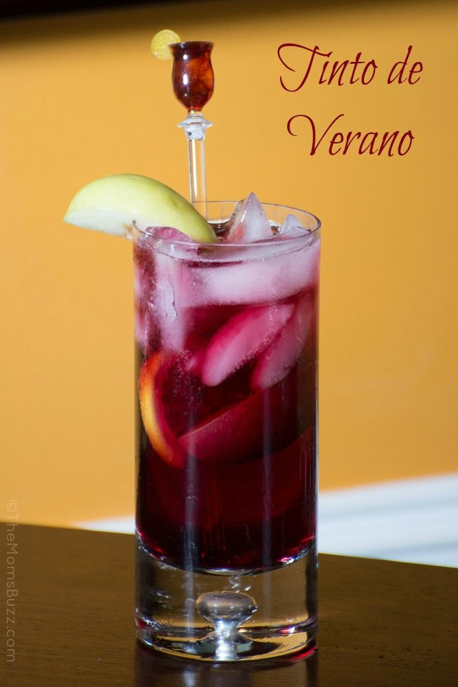 The Refreshing Tinto de Verano – recipe (Bilingual)
