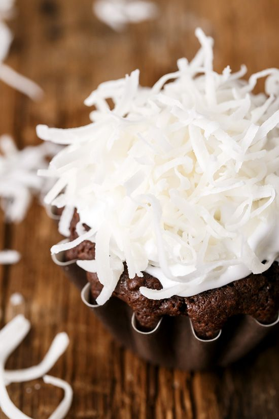 Vegan Chocolate Coconut Cupcakes with Whipped Coconut Cream Frosting
