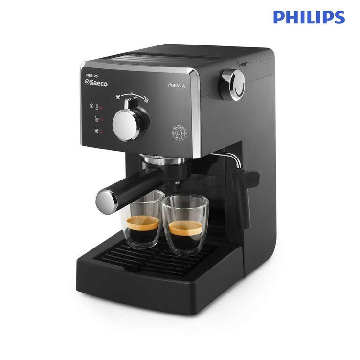 Phlips Saeco Poemia Manual Espresso Machine HD8323/08   Life Good Online Mall