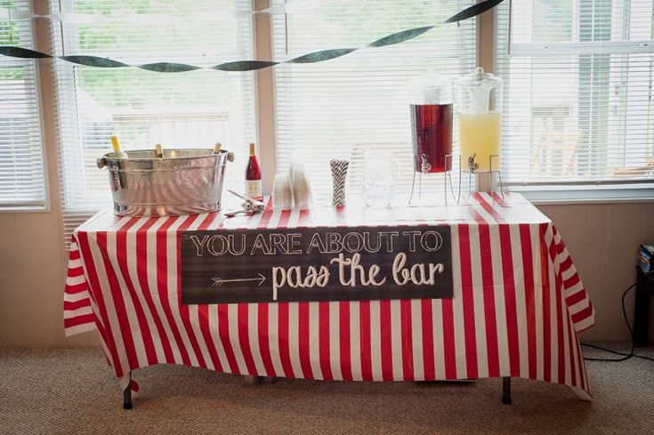 Great law school graduation party ideas