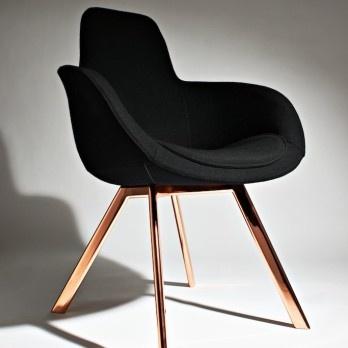 superstore.fr • Fauteuil bas ou haut, pieds en cuivre ou en bois, fauteuil Scoop