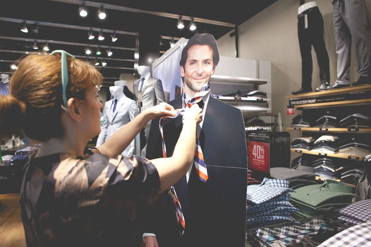Woman Spends Her Life With A Cardboard Cutout Of Bradley Cooper