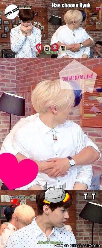 Henry vs Eunhyuk. . . for Donghae!