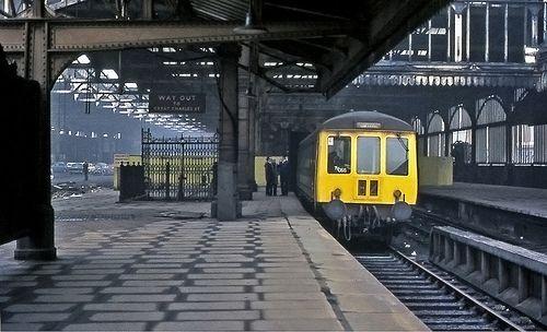 "Snow Hill Station 1972 | ""The biggest unstaffed halt in Brit… | Flickr"