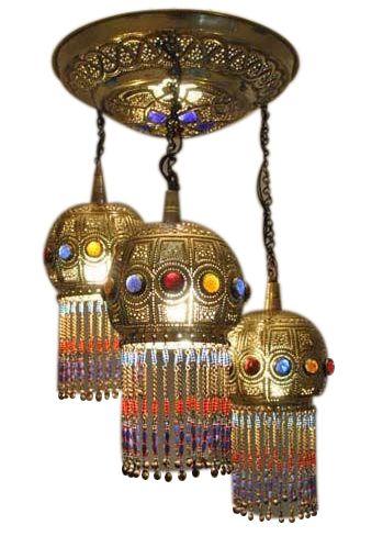 E Kenoz - Moroccan Ceiling Light Fixture Pendant Lamp Chandelier, $255.00 (http://www.ekenoz.com/moroccan-lighting/moroccan-pendant-lights/moroccan-ceiling-light-fixture-pendant-lamp-chandelier/)