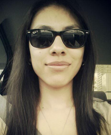 Zaira (ZaiLetsPlay) wearing her shades...Like a boss. #ZaiLetsPlay