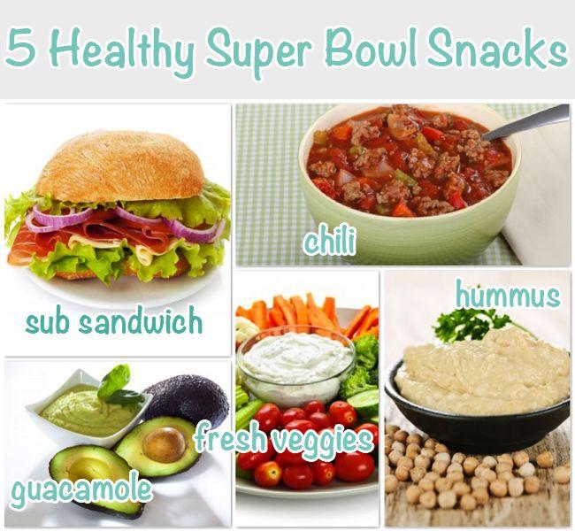 5 Healthy Superbowl Snacks