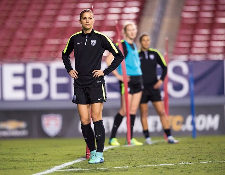 Gallery: WNT Trains at Raymond James Stadium ahead of opening match at 2016 SheBelieves Cup in Tampa - U.S. Soccer