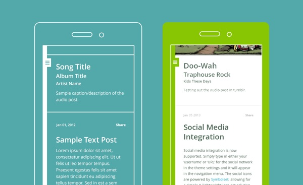 AppBlog Tumblr Theme (Free) on Behance