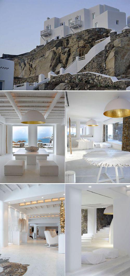Mediterranean%20Architecture%20Pictures Architectural Photos: Mykonos Island Hotel in Greece