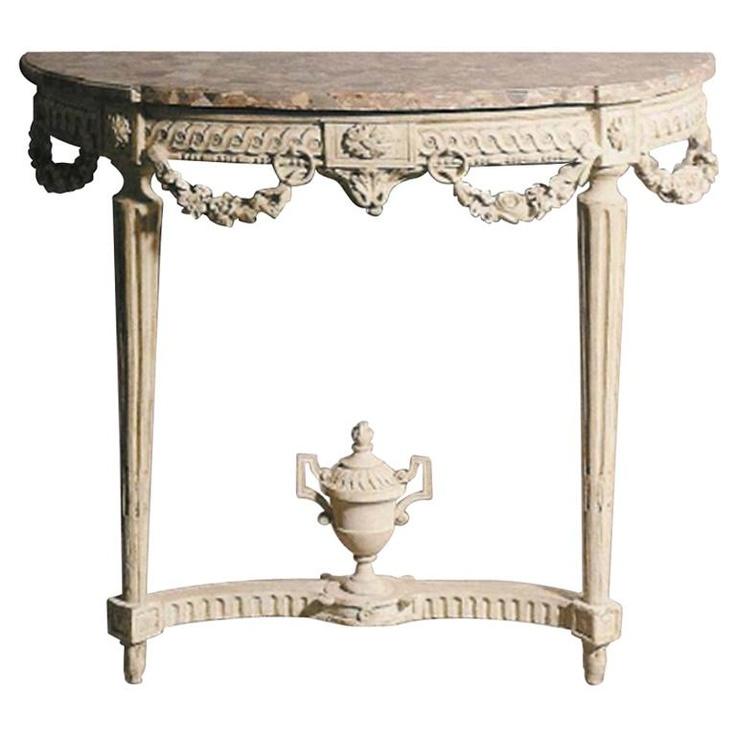 Die besten 25 konsolentisch aus marmor ideen auf for Arredamento neoclassico