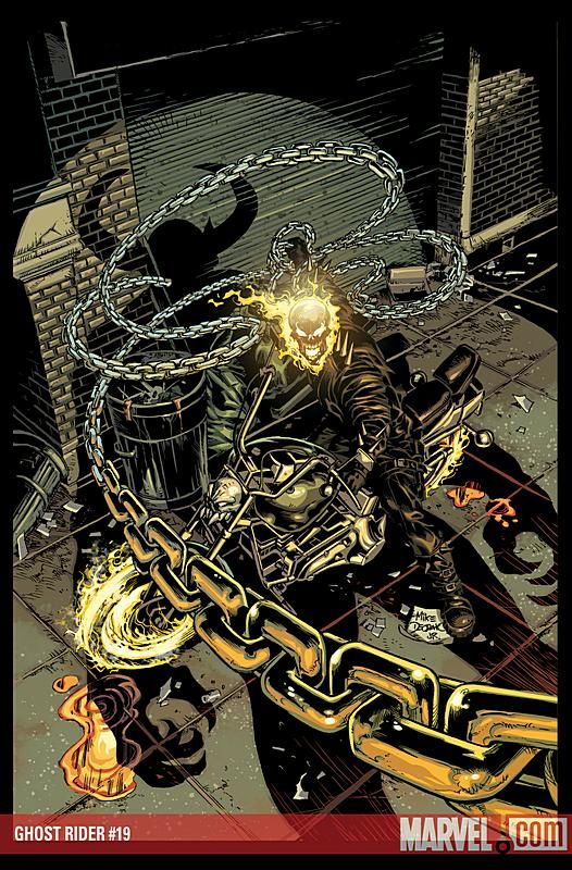 Ghostrider by Mike Deodato Jr