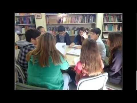 Sala de Leitura - Diretoria de Ensino de Jaboticabal - Município de Monte Azul Paulista - Escola Nena Giannasi Buck Professora.