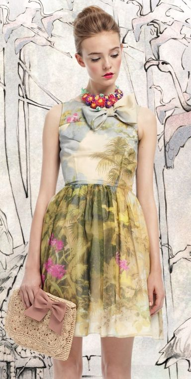 Valentino Spring/Summer 2013 Collection. Repinned from Vital Outburst clothing vitaloutburst.com