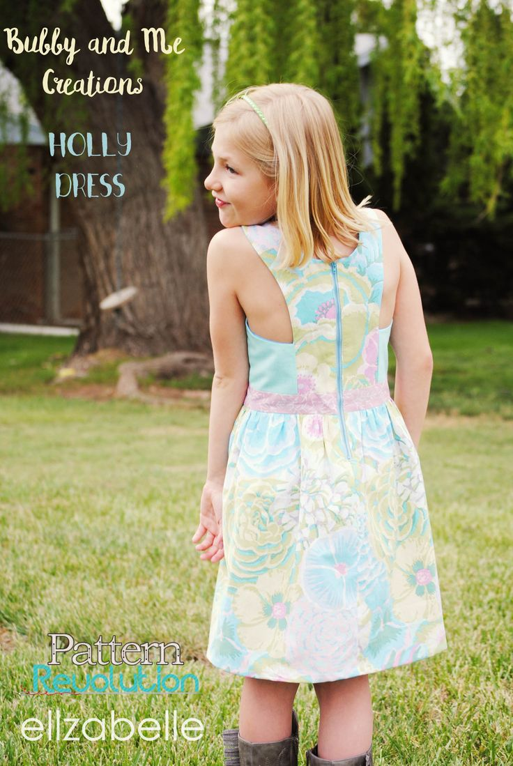 The Holly Dress by Bubby and Me Creations