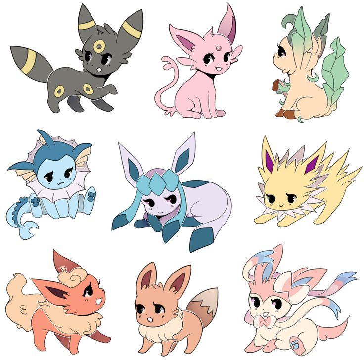 Eeveelution Fan : Photo | Eeveelution | Pinterest | Fans, Pokémon and Eevee evolutions