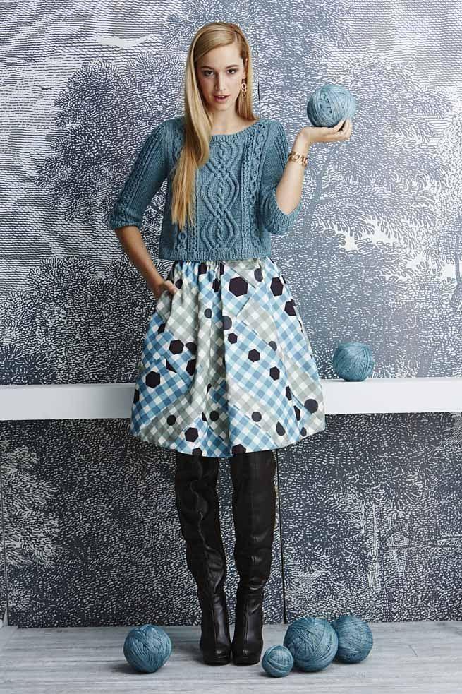 Пуловер с горловиной лодочкой Bateau-Neck (спицы). Обсуждение на LiveInternet - Российский Сервис Онлайн-Дневников
