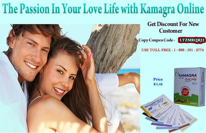Now put an end to all your sexual dysfunctions with Kamagra Viagra jelly. This is a oral medicine which is safe and very effective as well.