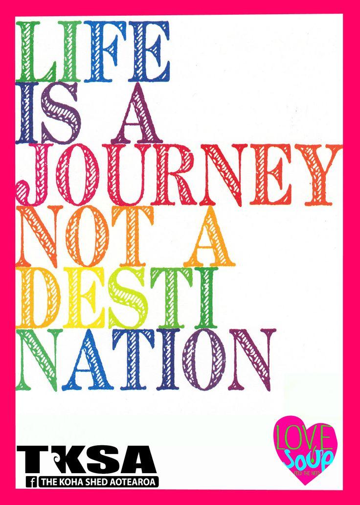 Life is a journey https://www.facebook.com/groups/thekohashedaotearoa/