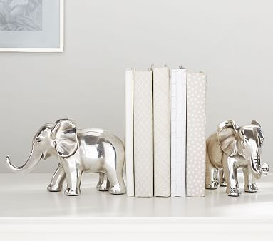 Antique Elephant Book Ends #pbkids