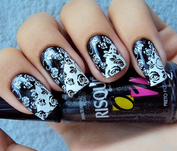 40 Classy Black Nail Art Designs For Hot Women: Best 25+ Elegant Nail Art Ideas On Pinterest