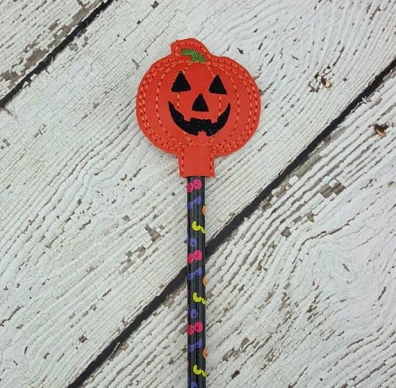 Pumpkin Pencil Topper