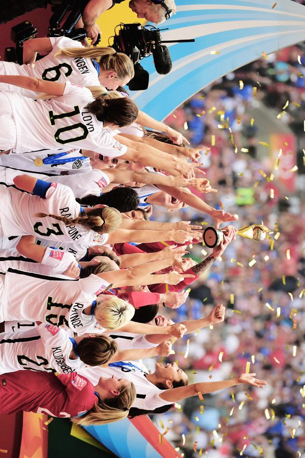 USWNT World Cup champions Hope Solo Carli Lloyd Megan Rapinoe Meghan Klingenberg Christen Press Alex Morgan Christine Rampone Morgan Brian Julie Johnston Sydney Leroux Becky Sauerbrunn Shannon Boxx Ali Krieger Tobin Heath Lauren Holiday Amy Rodriguez