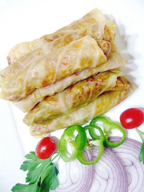 My Turkish Kitchen: ETLİ LAHANA SARMASI