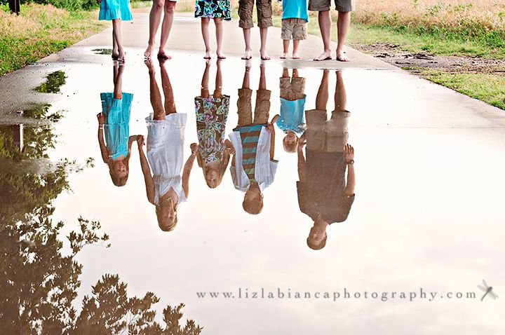 I LOVE this idea and really want to start experimenting with reflections!!!