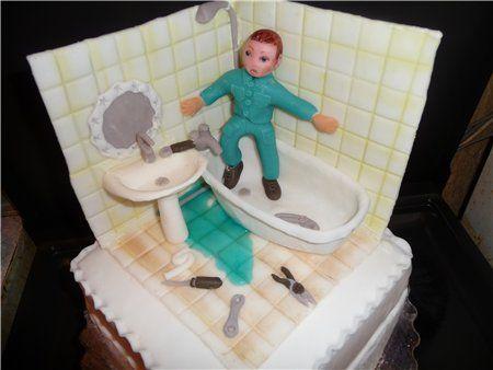 Картинки с днем рождения сантехнику