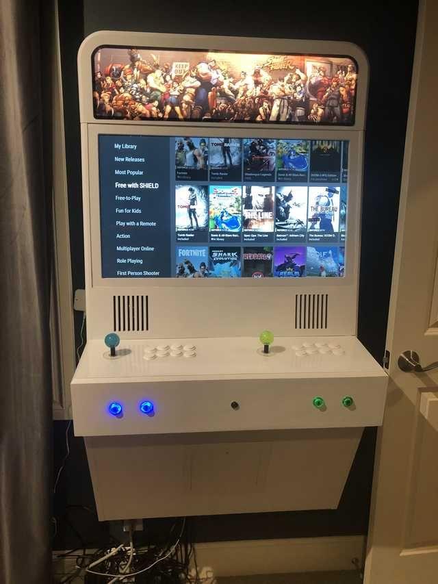 Polycade X Vewlix mashup project complete!   arcade   Arcade game