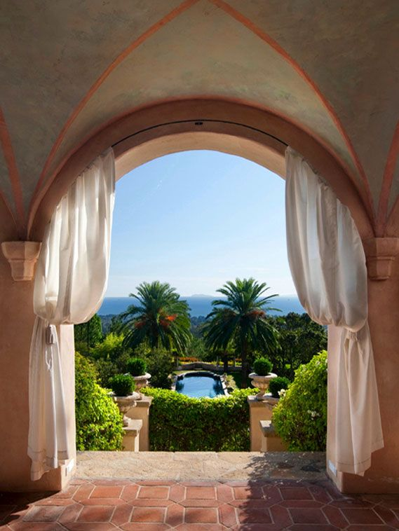 Montecito, CA - I wouldn't mind walking out to that view every morning. :-)
