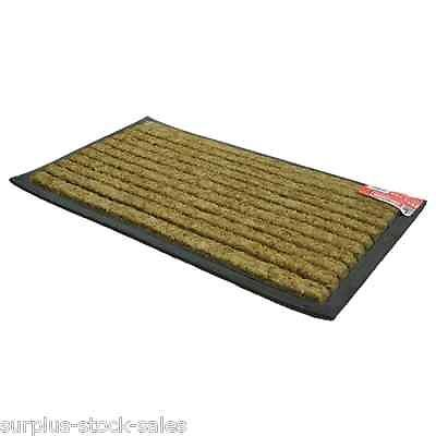 Details About ENTRANCE FLOOR DOOR MAT INDOOR OUTDOOR FRONT BACK COIR RUBBER  TEXTILE CHOICE