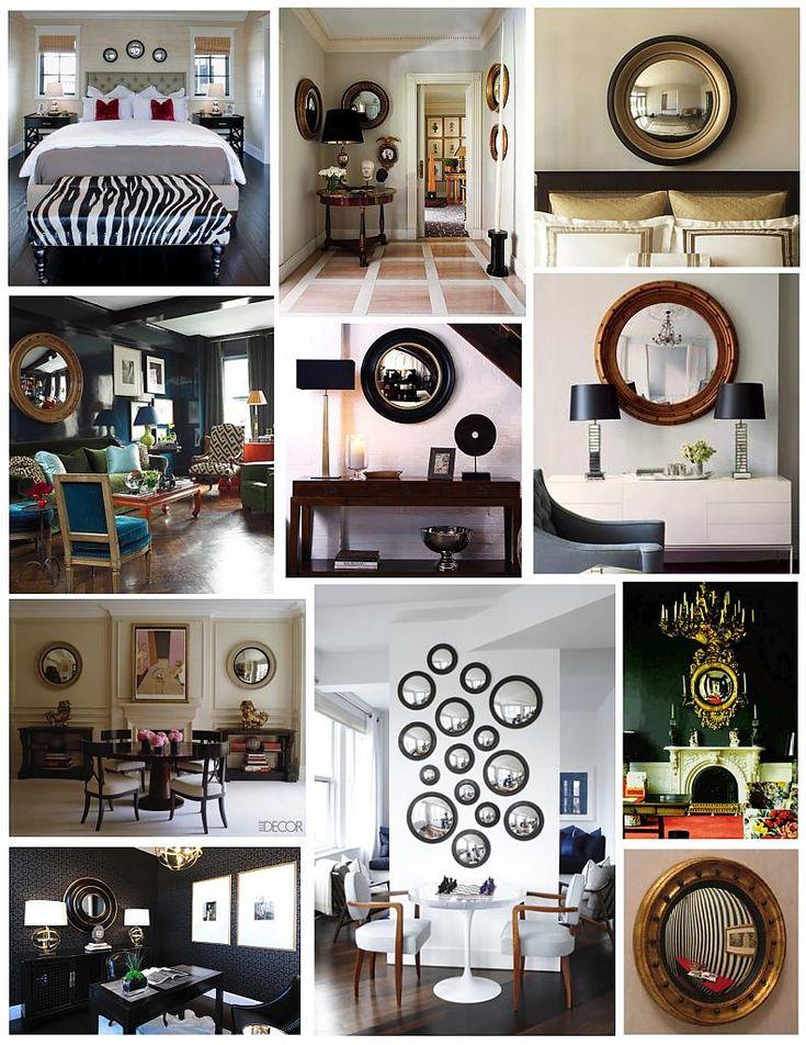 Очарование вашего дома с проверенными временем выпуклыми зеркалами - сказочное преобразование скучного пространства