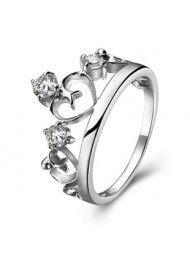 Pijlen kroon sterling zilveren ring kan worden gegraveerd 0181