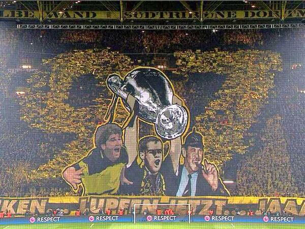 Signal Iduna Park, the home of Borussia Dortmund and of the most amazing fans in Europe.