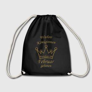 Wahre Königinnen werden im Februar geboren! Das perfekte Geschenk für alle die im Februar Geburtstag haben. #Geschenkidee #wahreköniginnen #imfebruargeboren #Geburtstagsgeschenk
